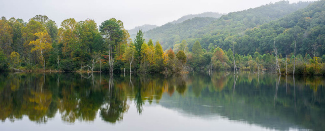 """Still waters on Chilhowee Lake"""