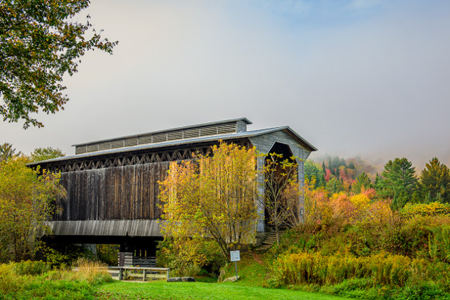 Fisher Railroad Covered Bridge
