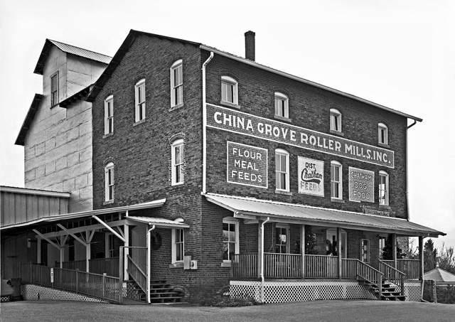 """China Grove Roller Mill"""