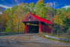 Red/Sterling Covered Bridge